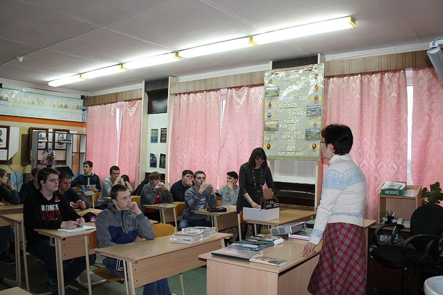 Противоабортная лекция в Удомельском колледже