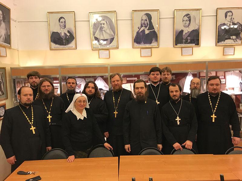Председатель отдела социального служения Бежецкой епархии принял участие в пастырской социально-практической стажировке, проходящей в г.Москве.