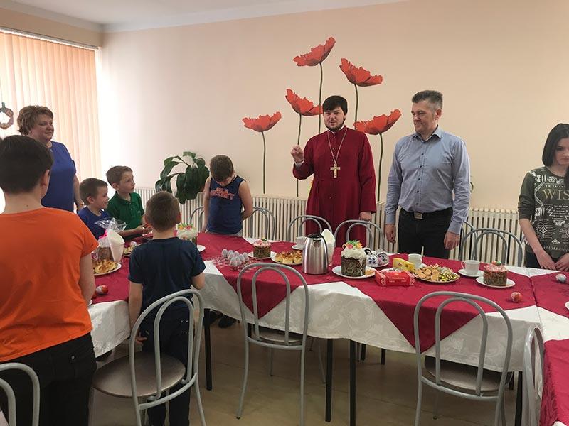 Посещение детского интерната Удомля .