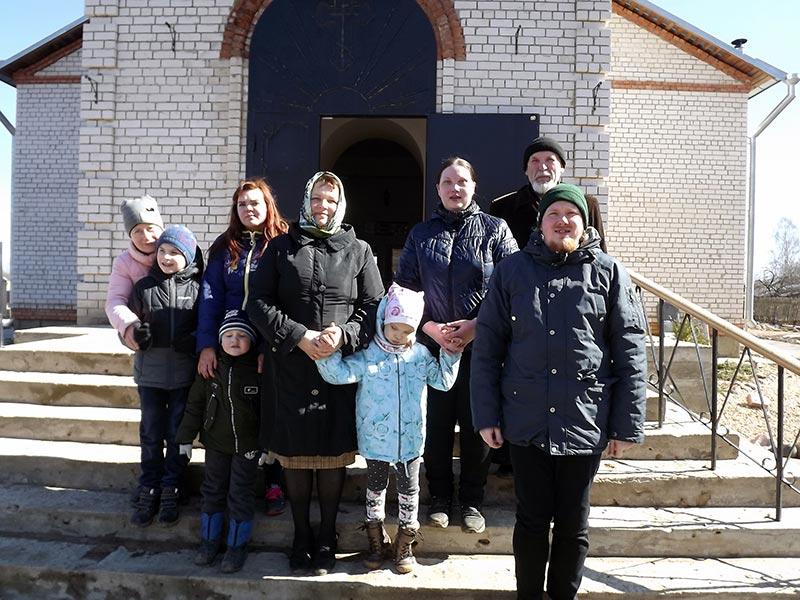Храм Всех Святых посетили воспитанники коррекционной группы детского сада №1 п. Максатиха