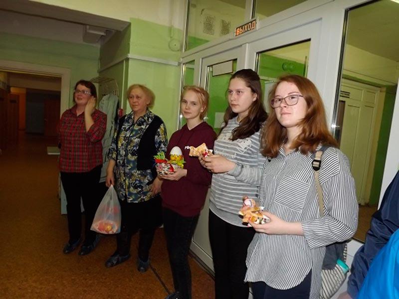 Посещение детского отделения ЦРБ в рамках благотворительной акции «Пасхальная радость
