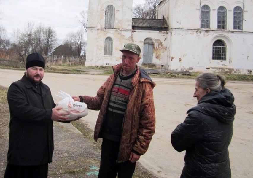 Благотворительные акции в Краснохолмском районе