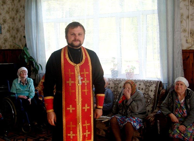 Посещение Дома-интерната для престарелых и инвалидов в с. Киверичи Рамешковского района