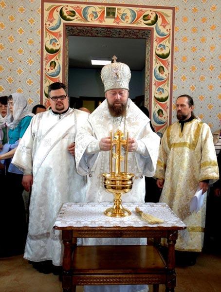 Освящение храма-часовни при больнице г. Удомля