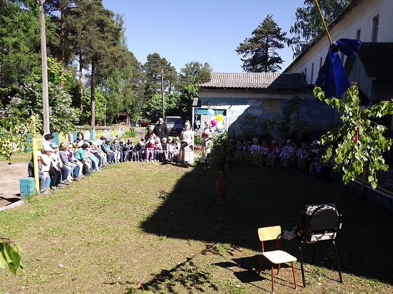 В детском саду №1 пгт. Максатиха отметили праздник Святой Троицы
