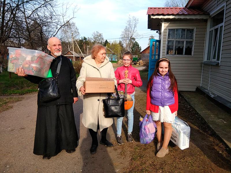 Посещение Малышевского Дома престарелых