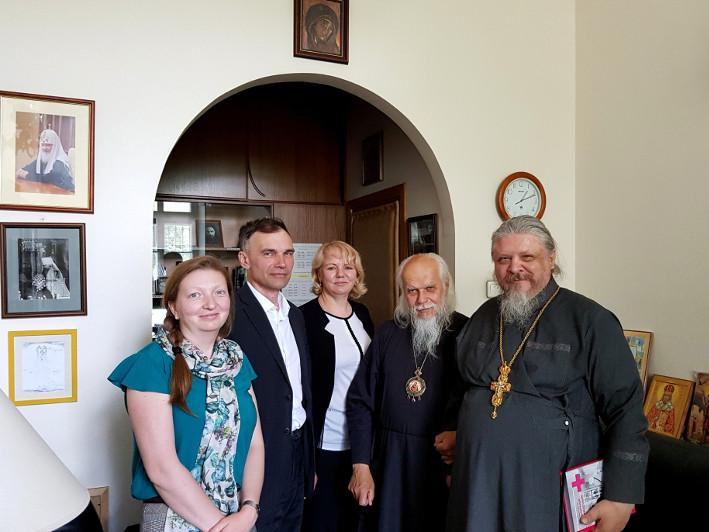 Посещение Свято-Димитриевского училища сестер милосердия
