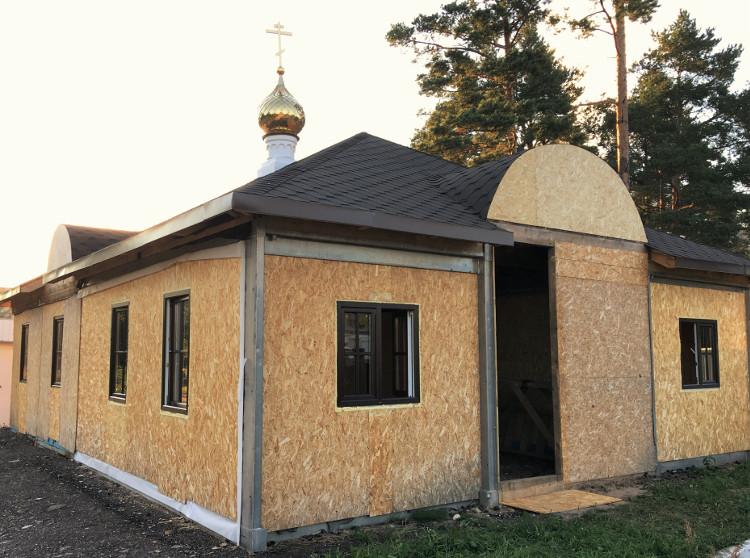 В Удомле ведётся строительство благотворительной столовой для малообеспеченных людей при Князь-Владимирском соборе