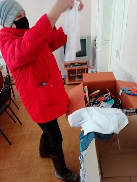 В Бежецком благочинии состоялась очередная благотворительная акция