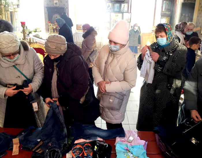 Благотворительная акция в Максатихинском благочинии