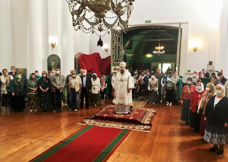 Архипастырский визит в Удомельское благочиние
