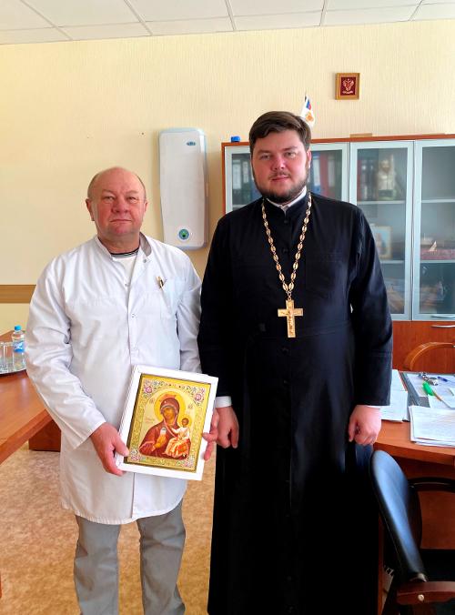 Встреча в ЦМСЧ №141 г. Удомля в преддверии профессионального праздника