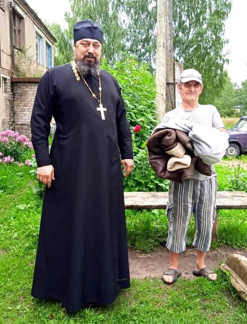 Благотворительная акция в с. Сукромны Бежецкого района