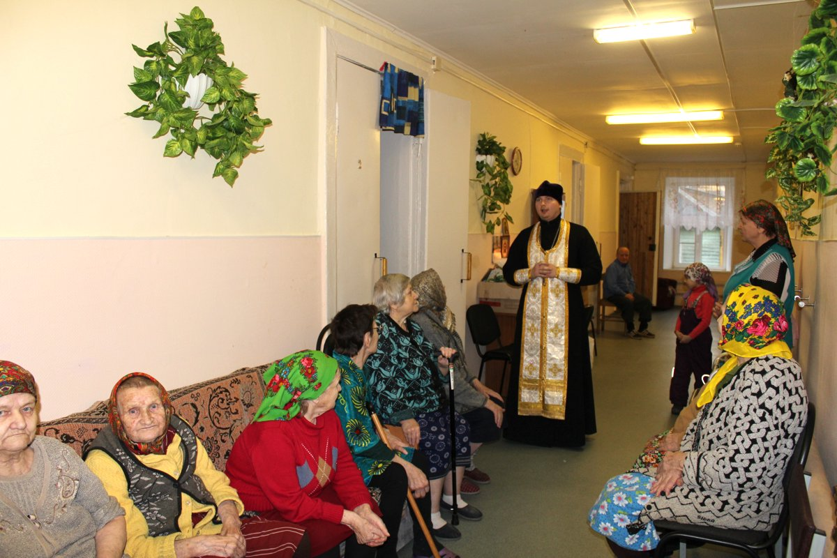 Дружеский визит в Верескуново