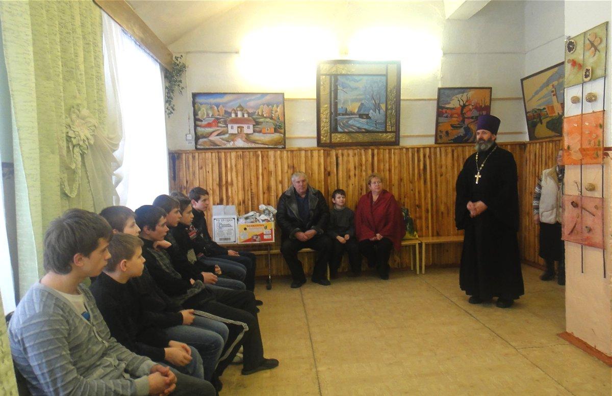 Праздничный визит в Городищенскую школу