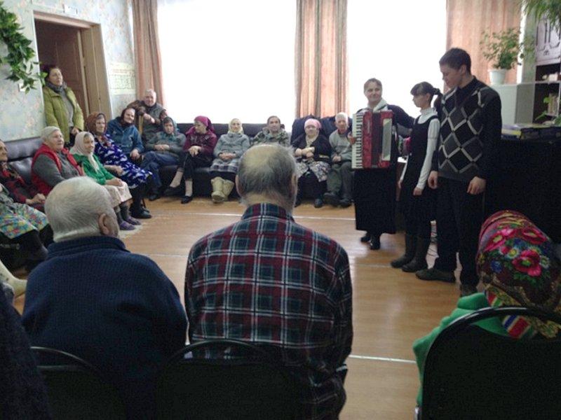 Концерт в Доме престарелых